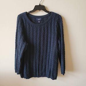 Lands End Plus Size Womens Drifter Sweater